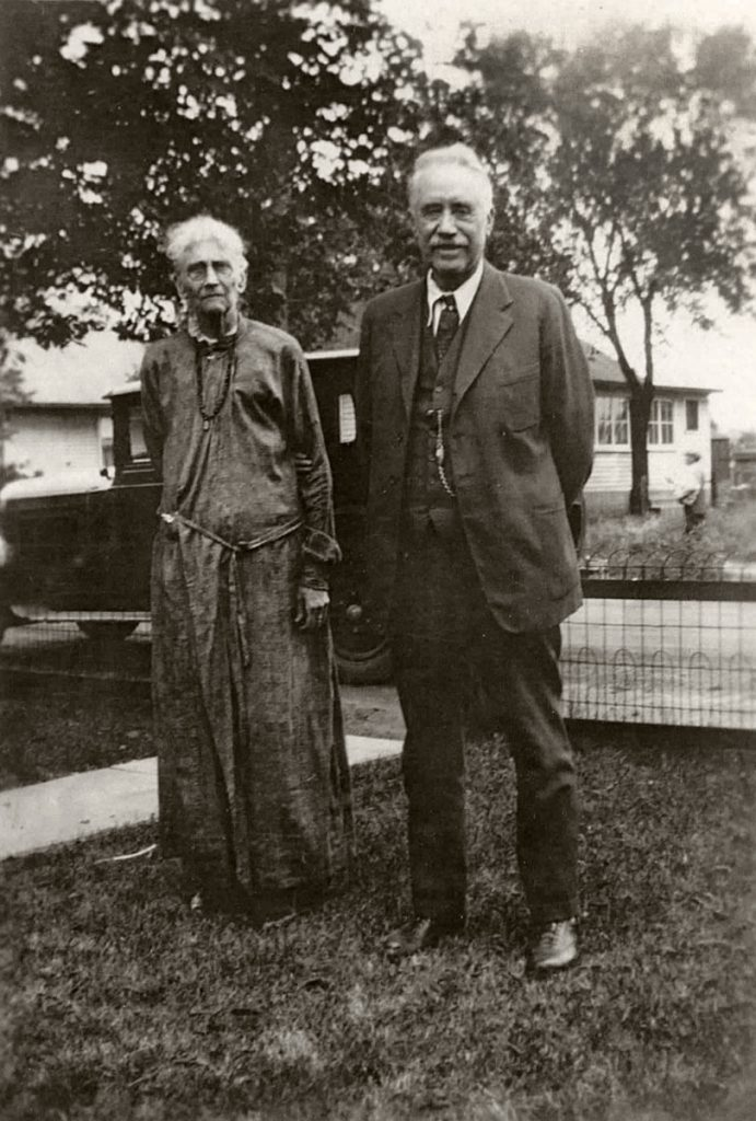 William Hagenbaugh and Julietta Barr, 1929