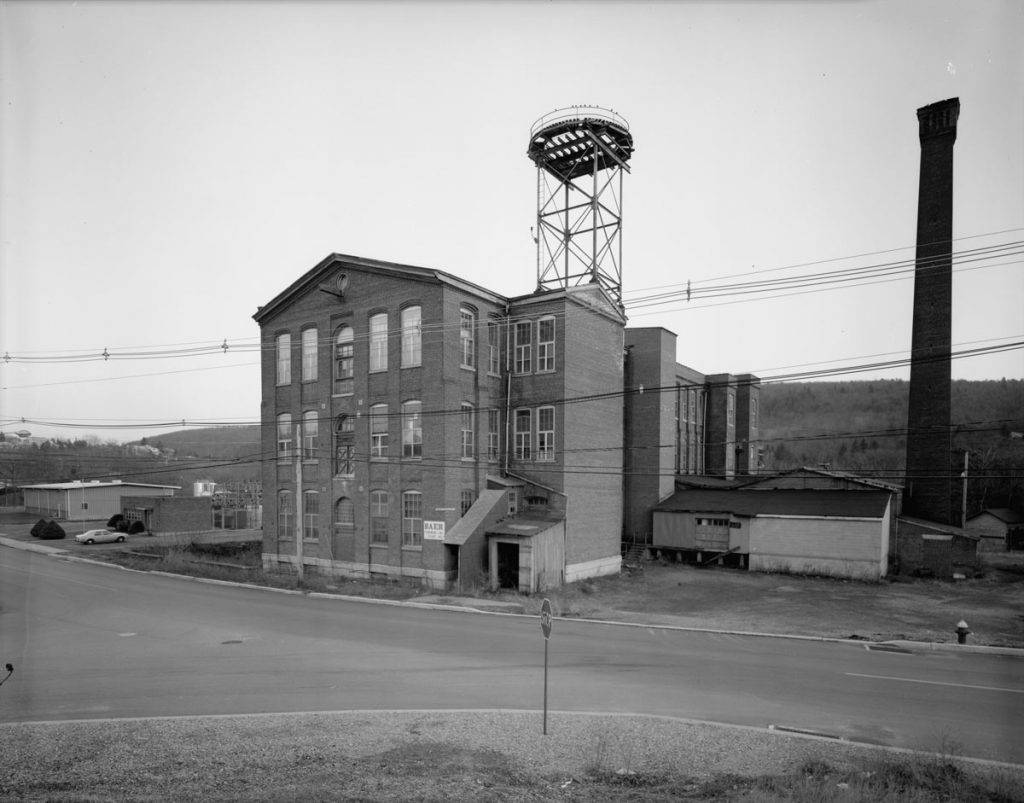 Baer Silk Mill Lehighton 1968