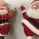 Santa Ornaments Detail