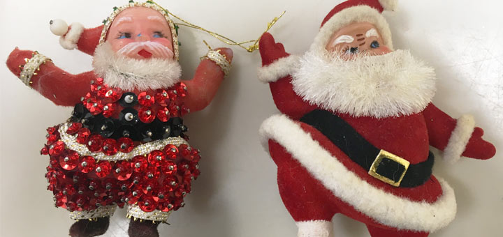 Santa Ornaments Detail