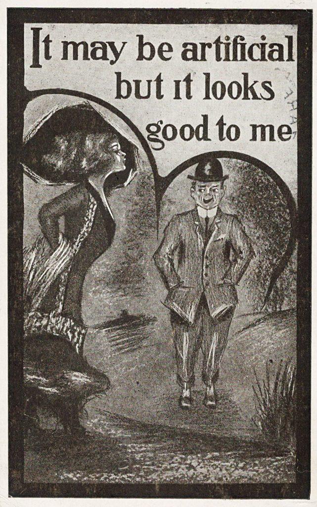 Salome Hagenbuch Rehrig Postcard Front 1911