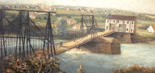 Chain Bridge Allentown Grunewald Detail