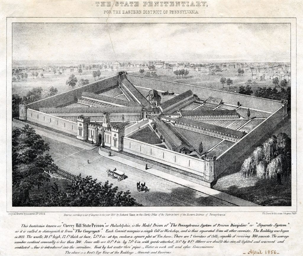 Eastern State Penitentiary 1855