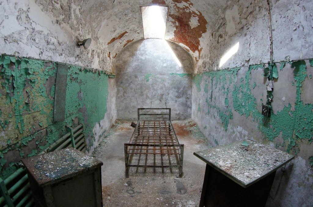 Eastern State Penitentiary Cell 2013