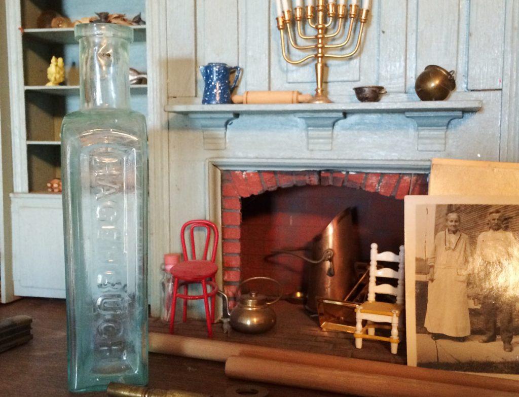 Privy Bottle Fireplace