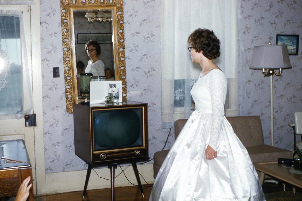 Barbara Hagenbuch Wedding Dress 1961