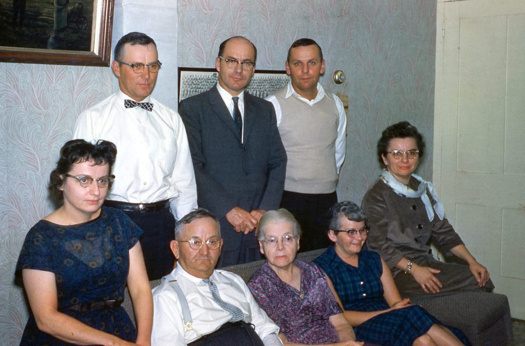 Clarence and Hannah Hagenbuch Family