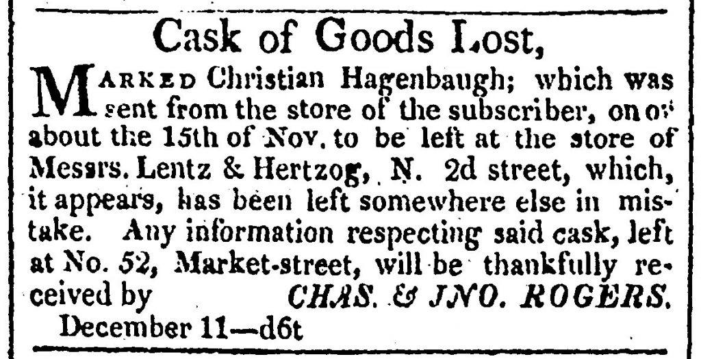 Lost Cask Christian Hagenbuch Classified