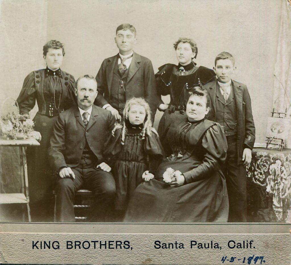 William Allen Hagenbaugh Family 1897