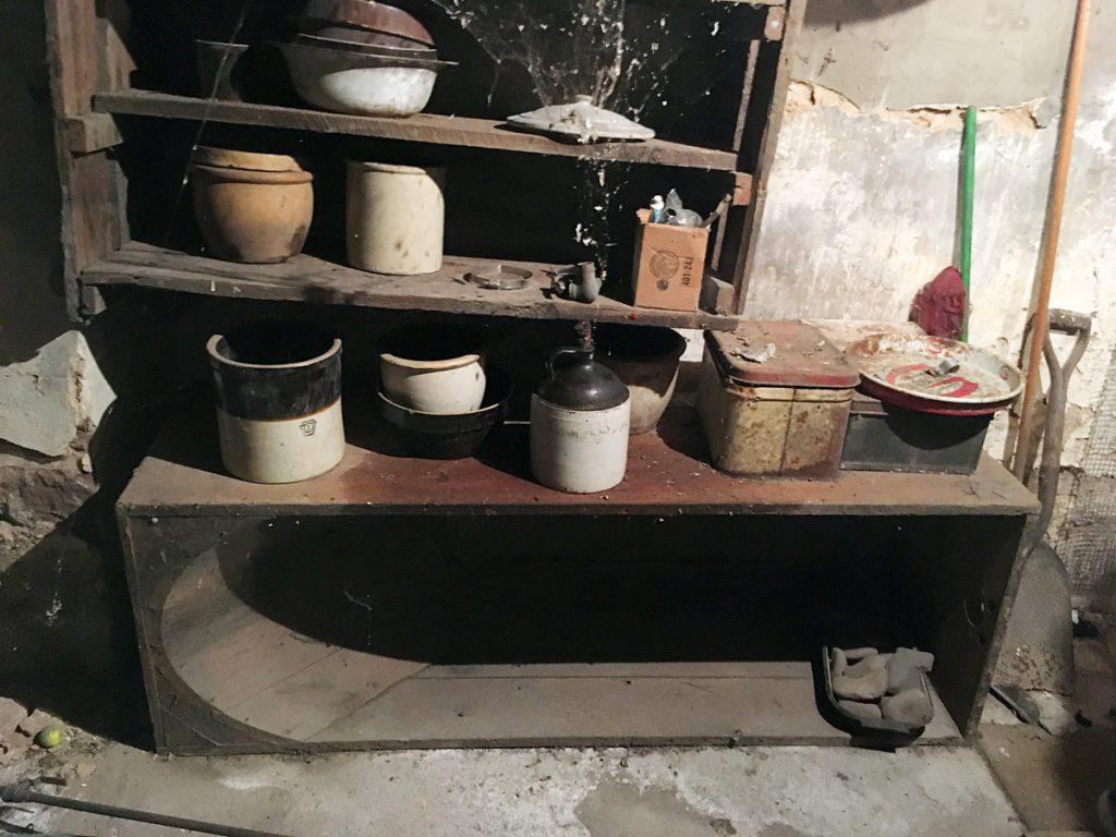Hiram Hagenbuch House Basement Bathtub