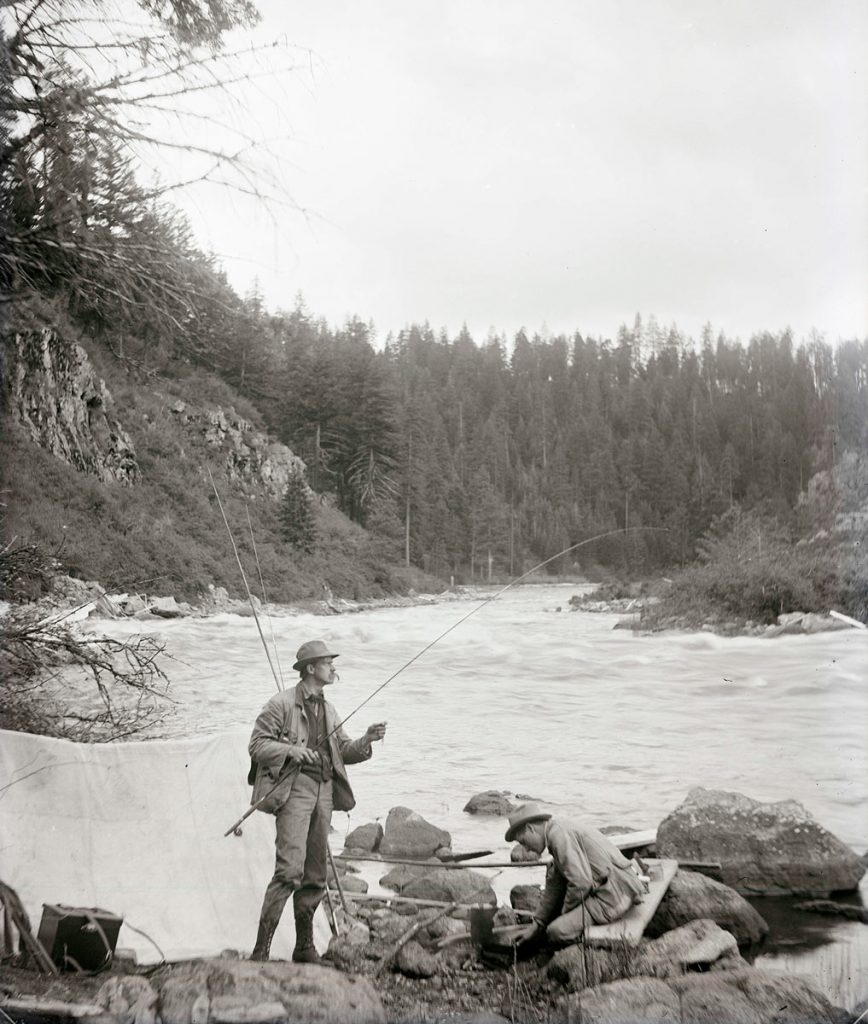Klamath River Fishing 1905