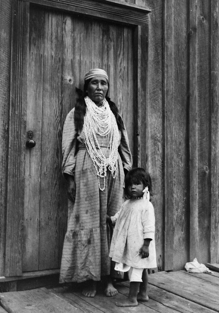 Karok Woman and Child 1913