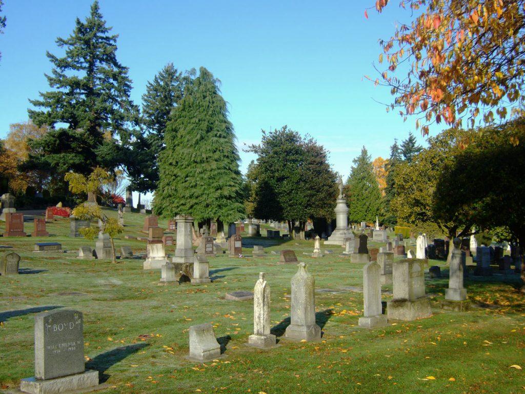 Lake View Cemetery Seattle
