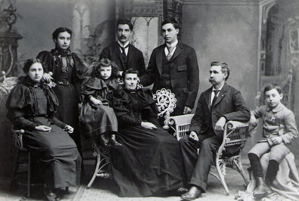 William and Lydia (Hagenbuch) Stahl Family, c. 1895