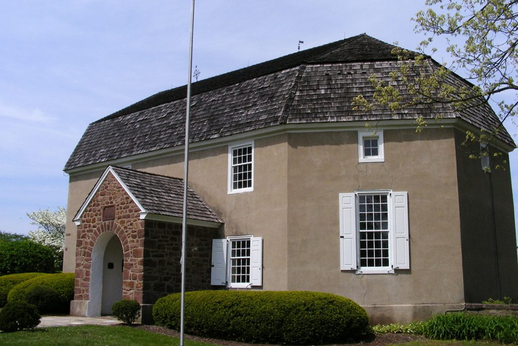Augustus Lutheran Church 1743