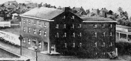 Cross Keys Hotel Allentown 1870