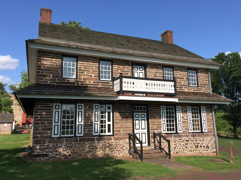 Peter Wentz House Exterior