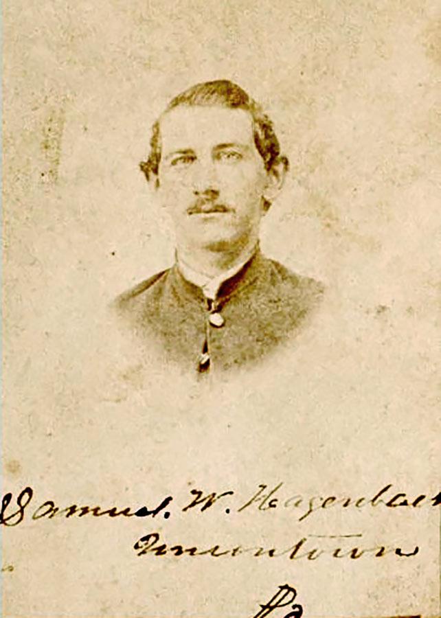 Samuel Hagenbuch, c. 1864
