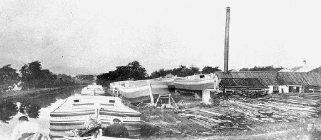 Pennsylvania Canal Company Boat Yard Espy PA