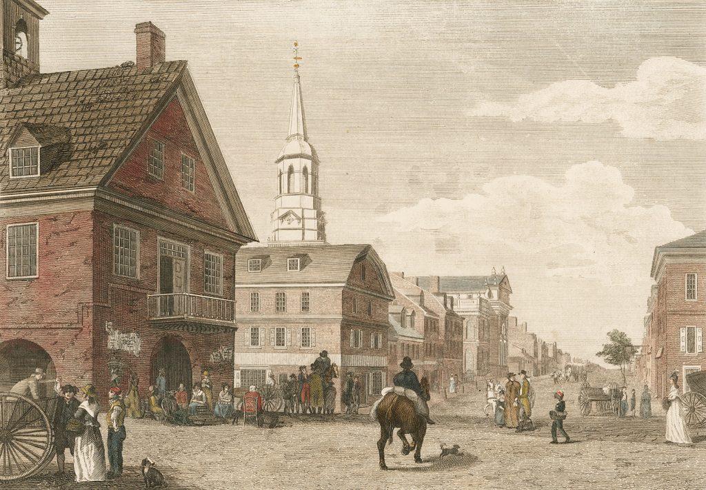 Philadelphia 2nd Street 1777
