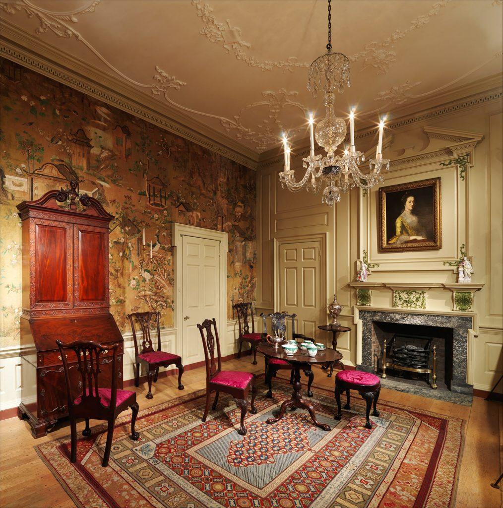 Powel House, Charles Stedman, Interior