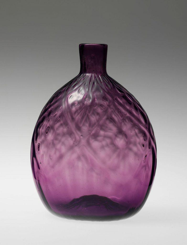 Stiegel Glass Pocket Bottle 1770