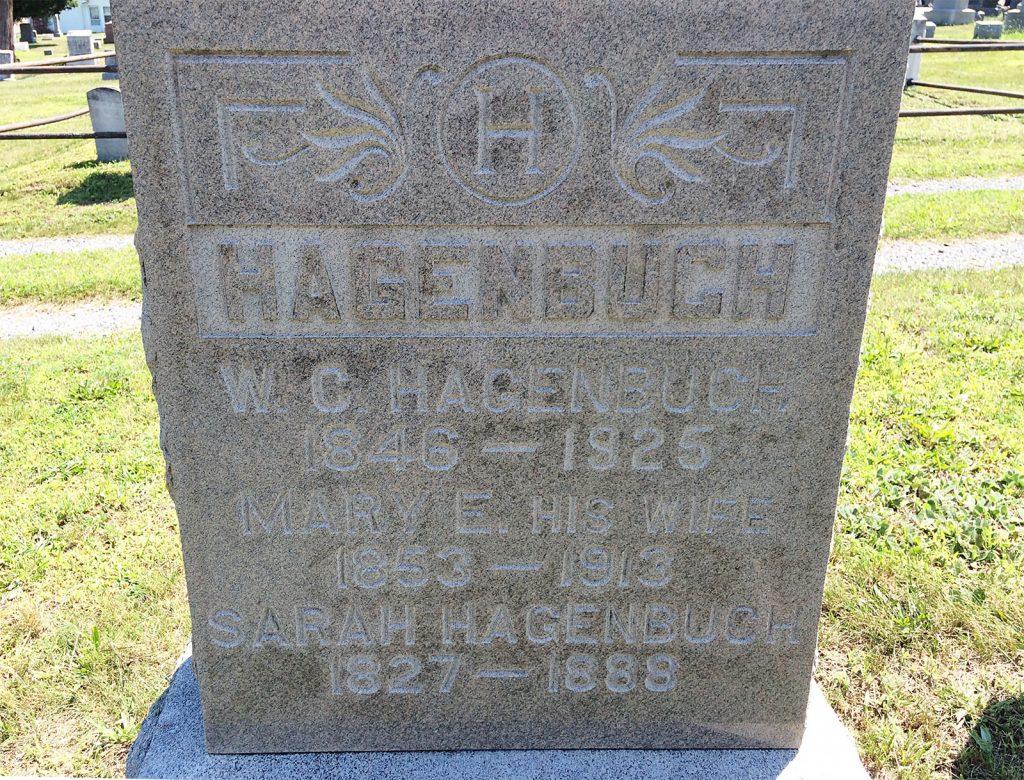W. C. Hagenbuch Grave