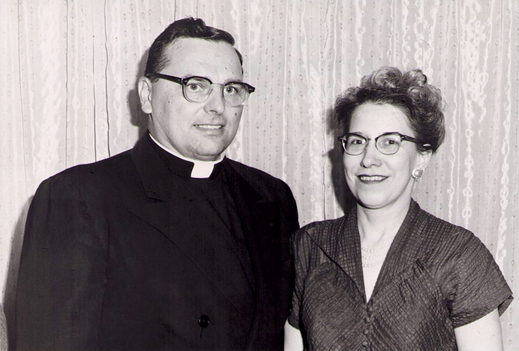 Roy Jr. and Ethel (Brandt) Gutshall, 1960