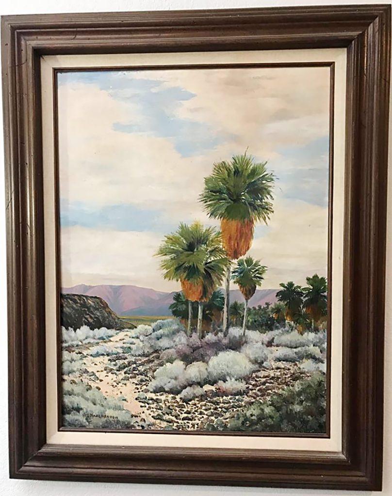 William L. Hagenbaugh Painting Palms Desert