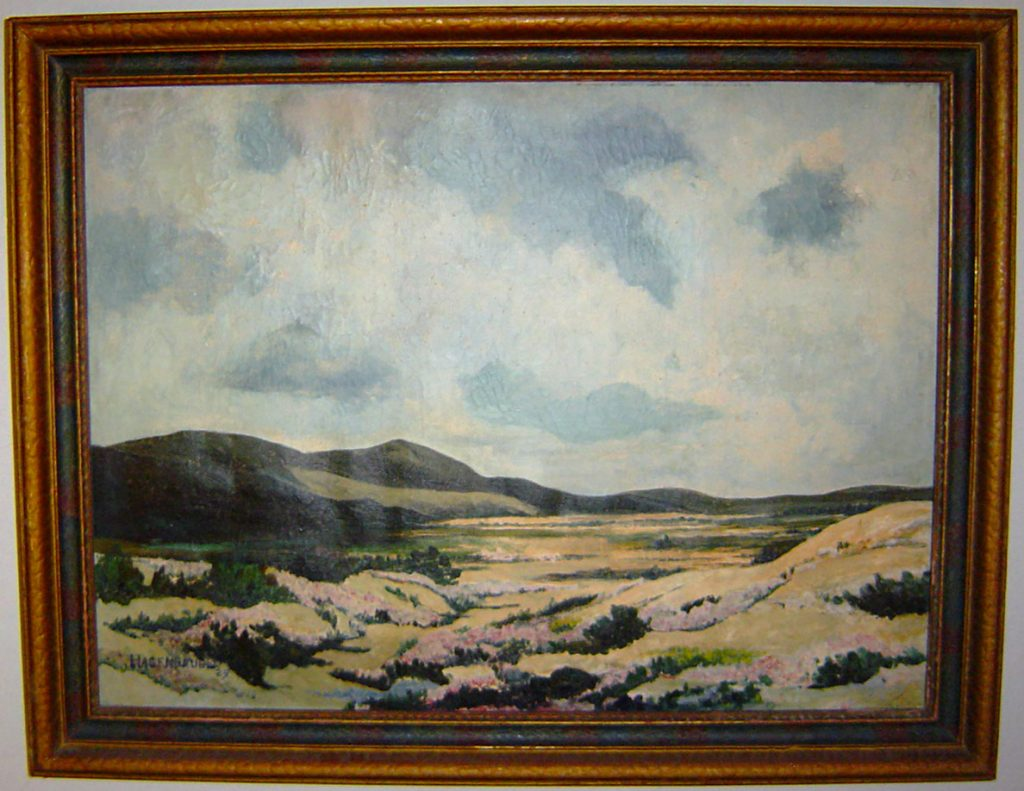 Valley Flowers Painting William L. Hagenbaugh