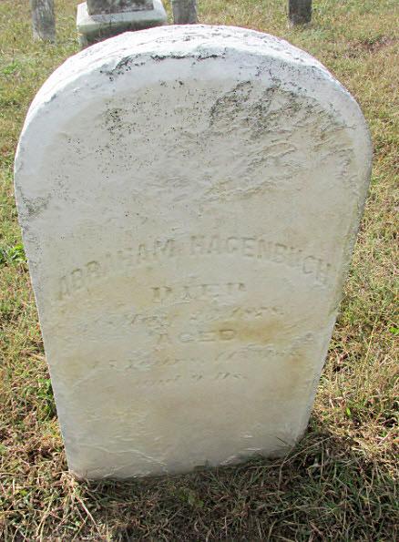 Abraham Hagenbuch Grave
