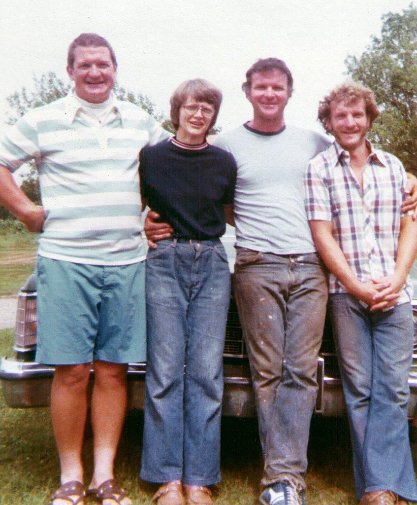 Alan, Jean, William, and Paul Hagenbuch, 1977