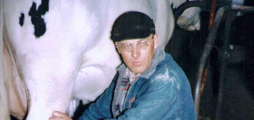 Homer Hagenbuch Milking Cow Detail
