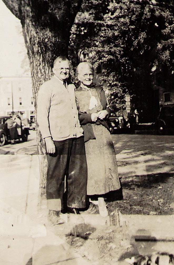 John Bert Sr, Maude Hagenbuch