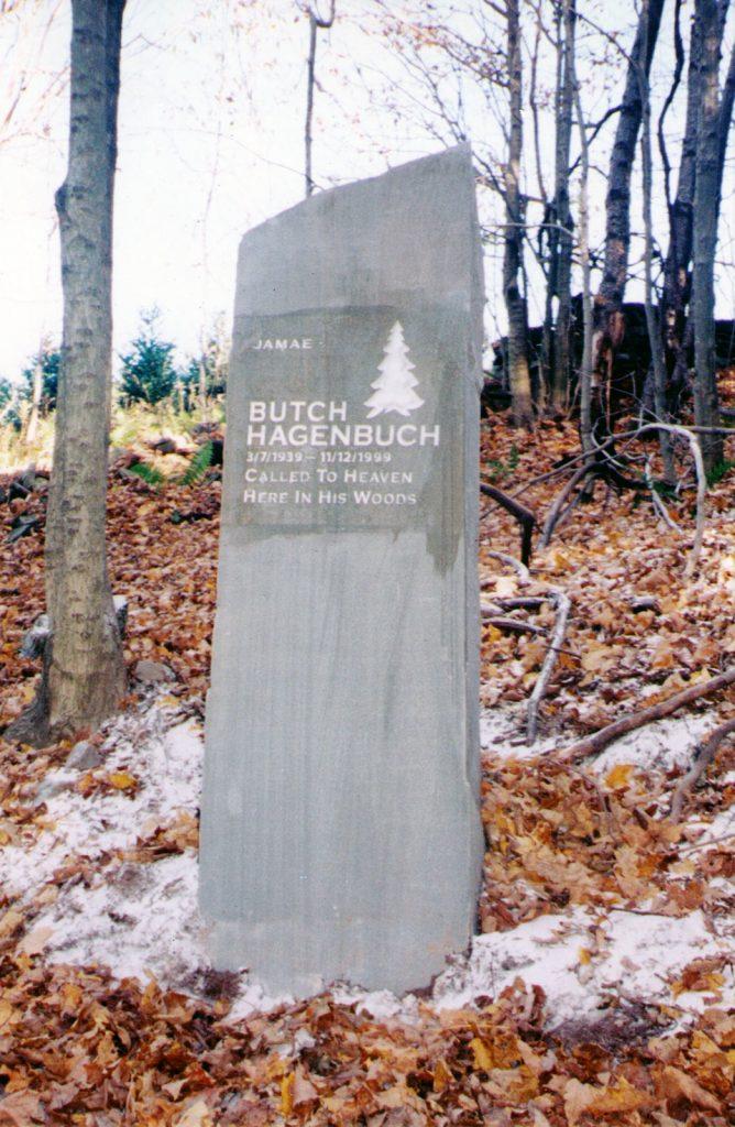 "William ""Butch"" Hagenbuch Monument"