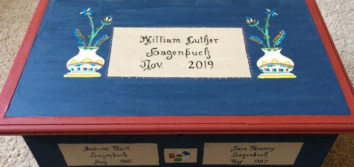 William Luther Hagenbuch Chest