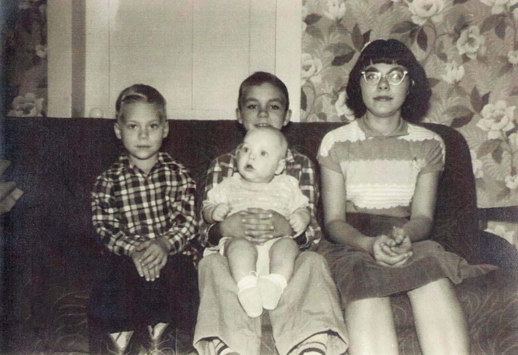 Barbara, Robert, David, Mark Hagenbuch 1954
