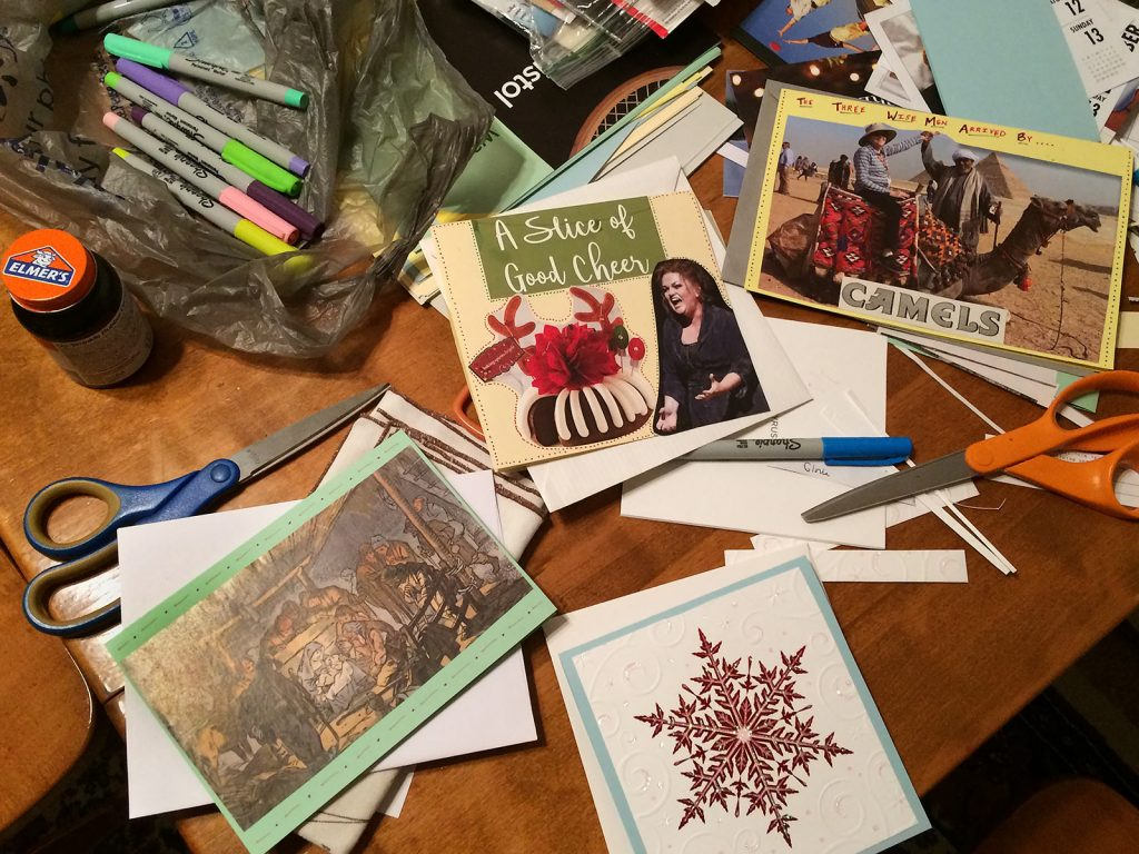 Creating Handmade Christmas Cards