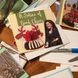 Making Handmade Christmas Cards Detail