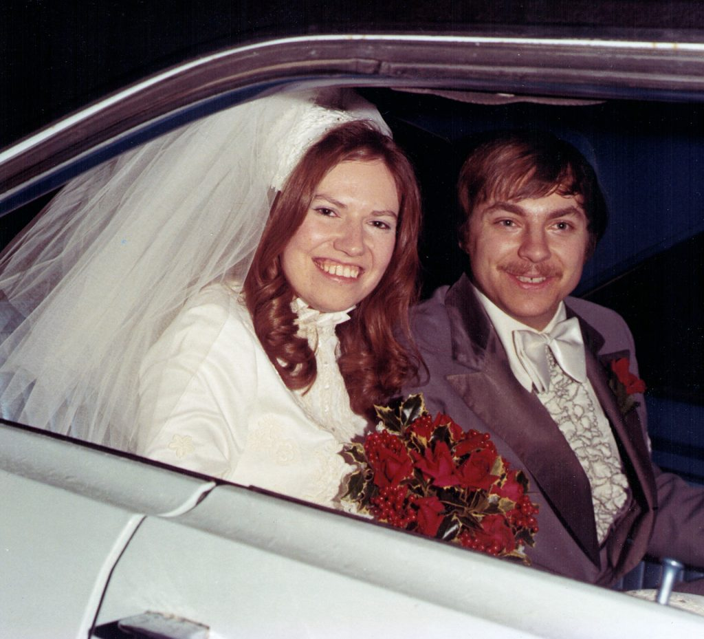 Mark and Linda Hagenbuch Wedding 1974