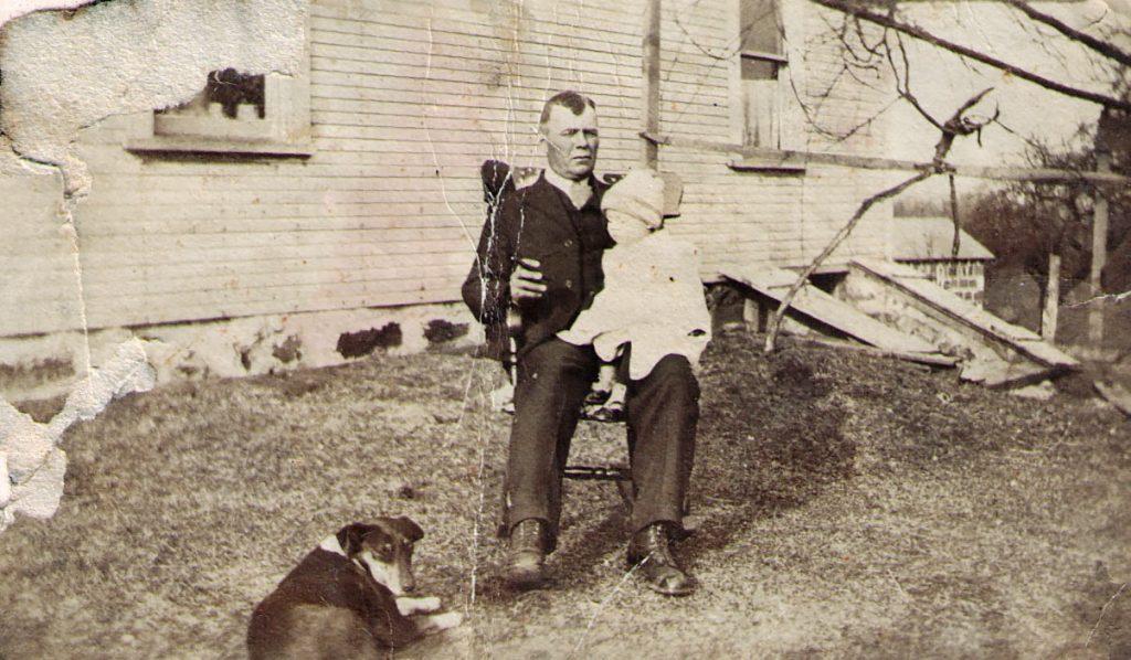 Uzinus Zacharias and Irene Faus 1921
