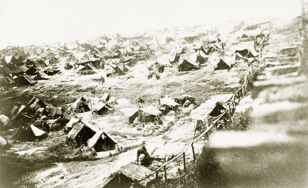 Andersonville Prison Dead Line 1864