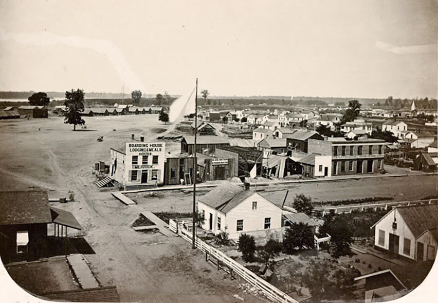 Brigade Hospital, Cairo, Illinois, 1861