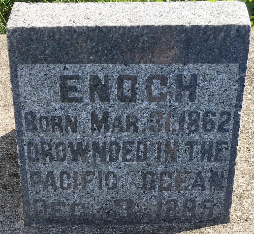 Enoch Watt Gravestone