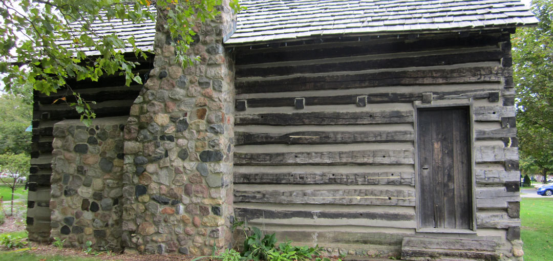 Elias Comstock Log Home