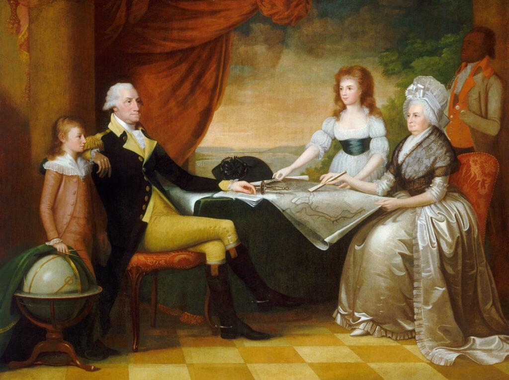 Washington and Family 1789