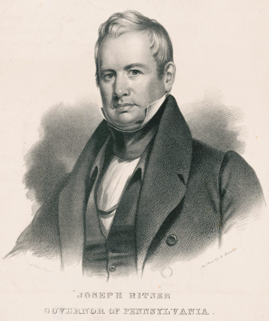 Joseph Ritner Governor Pennsylvania