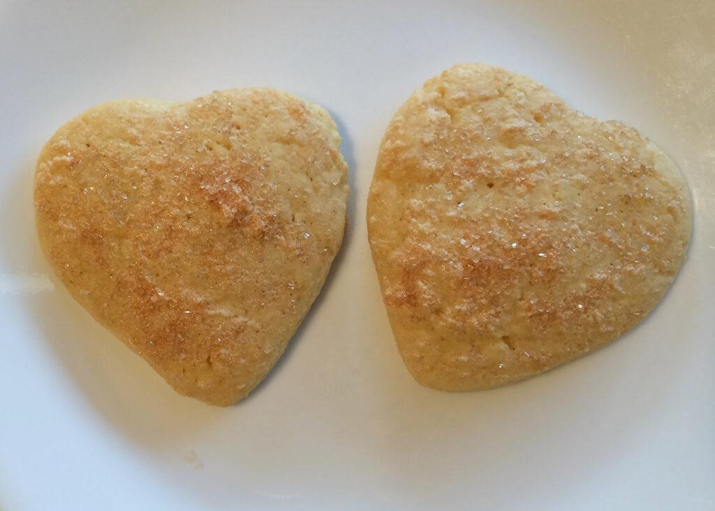 Sugar Cookies Heart-Shaped