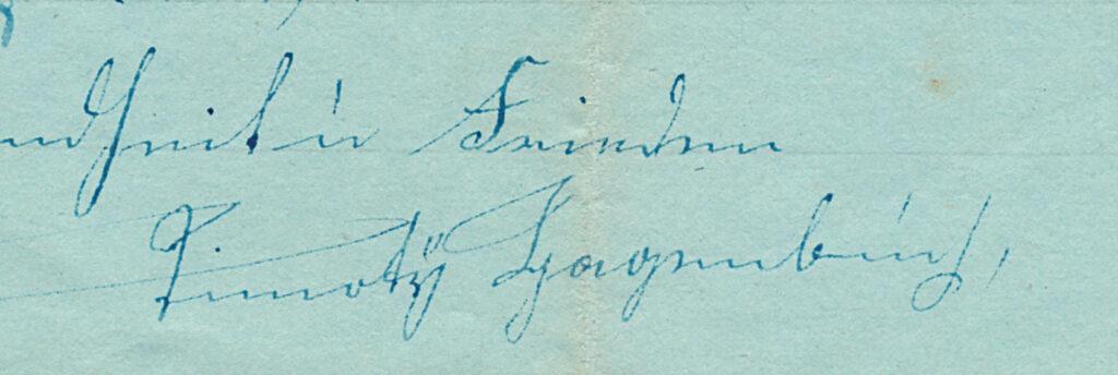 Timothy Hagenbuch Signature