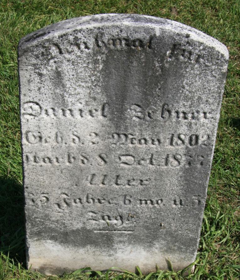 Daniel Zehner Gravestone